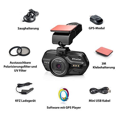TrueCam A7s GPS Professionelle Dashcam Autokamera 2K Super HD - 10