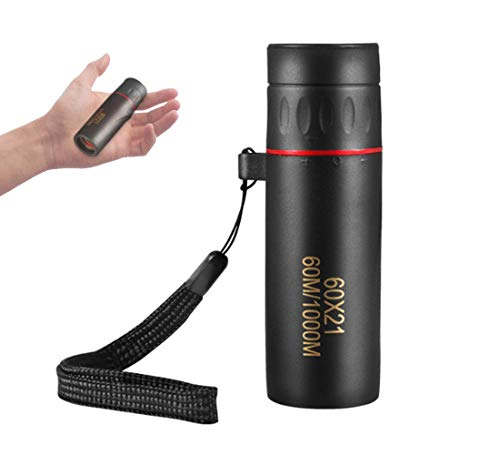 ZUZU Babe Pocket Monocular for Adults, Mini High Powered Handheld Telescope for Birds Watching, Hunting, Camping, Hiking, Live Concert and Match.
