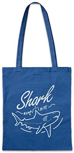 Urban Backwoods Shark Bump & Bite Hipster Bag Beutel Stofftasche Einkaufstasche