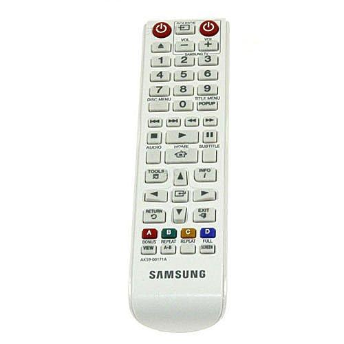 Fernbedienung für Samsung BD-J5500E 3D Blu-ray & DVD Player - Mit Zwei 121AV AAA Batterien enthalten