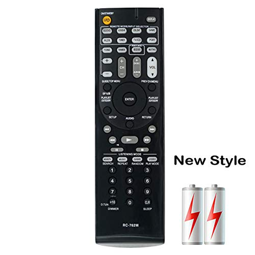 PROROK New Remote Control RC-762M fit for ONKYO AV Receiver TX-SR307 TX-SR307S TX-SR507S TX-SR577 HT-S3400 HT-S5100 AVX-290 HT-RC230 HT-R290 HT-R380 HT-R390 HT-R538 HT-R560 HT-R667
