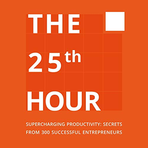 The 25th Hour audiobook cover art