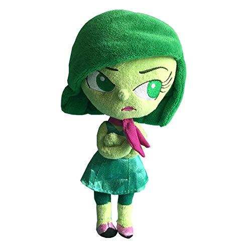 shenlanyu Peluche Giocattolo Cartoon Movie Inside out Disgusto Giocattoli di Peluche Pixar Peluche Figura 21cm