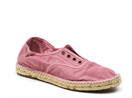 Natural World Eco – Náutico Inglés Yute Tintado 620 E – Zapatillas Veganas – Tela – para Mujeres a la Moda deEstilo Fashion
