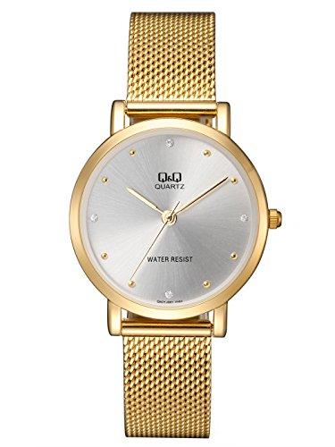 Reloj de Moda para Mujer Dorado Q&Q by Citizen QA21J001Y