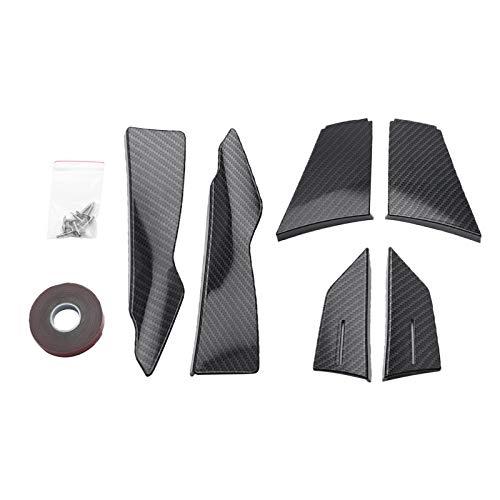 H HILABEE Paragolpes delanteros Spoiler para F80 M3 F82 M4 Coupe ABS fibra de carbono Look/negro brillante (Color: fibra de carbono)