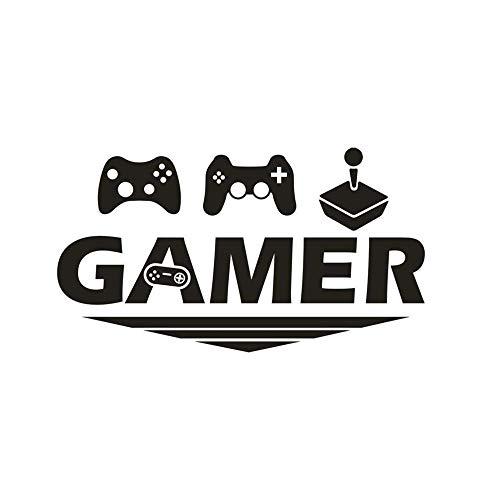 Gamer Joystick Juego Pegatinas Pared Etiqueta Pared