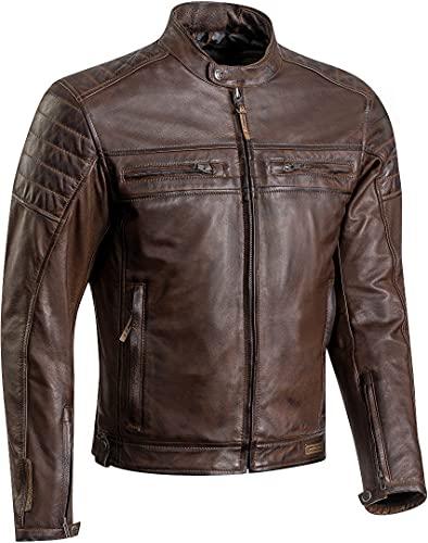 Ixon 1002010366001XL Motorradjacken Braun, Torque Braun, Braun, XL