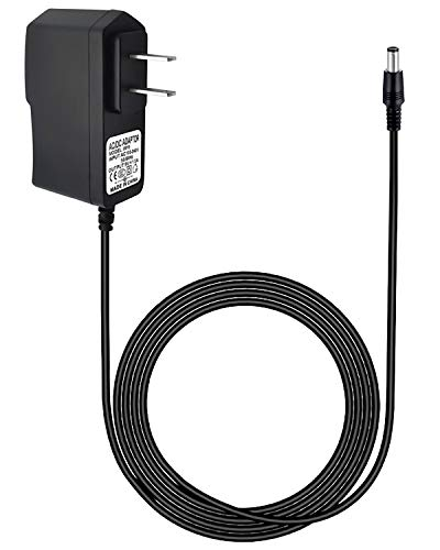 12V 1A AC Power Supply Adapter Charger Cord for Yamaha PSR, YPG, YPT, DGX, DD, EZ and P Digital Piano and Portable Keyboard Series, Replacement PA-130 PA-130B Adapter (10 FT)