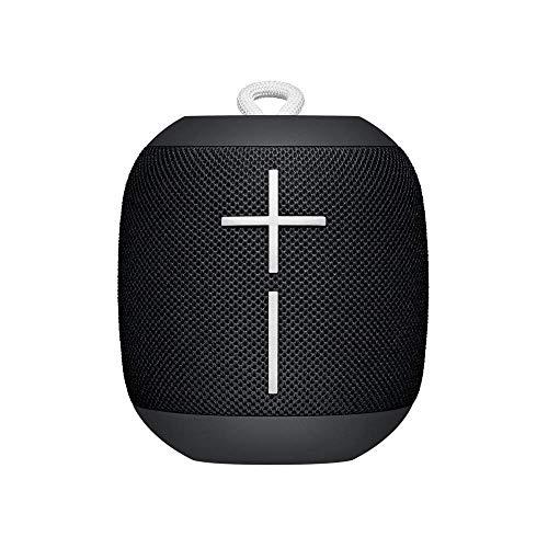 Ultimate Ears WONDERBOOM - Altavoz Bluetooth impermeable con conexión, Negro (Reacondicionado)