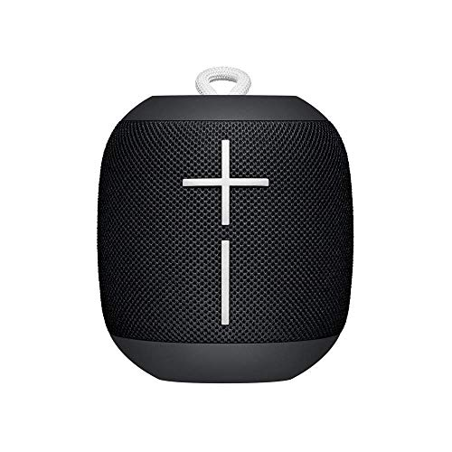 Ultimate Ears WONDERBOOM - Altavoz Bluetooth impermeable con conexión, Negro (Reacondicionado)