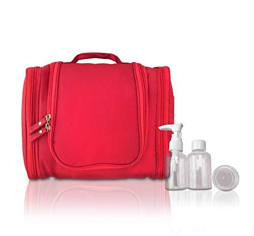 Trousse de toilette pour femme, homme, fille, cadeau de Noël, grand organiseur, kit de rangement pour bouteilles et accessoires