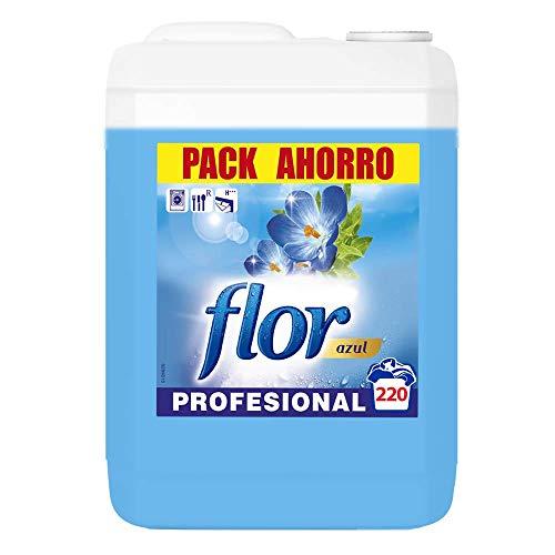 Flor - Suavizante para la ropa profesional, aroma azul - 220 dosis