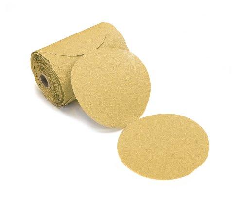 Mirka 23-342-220 Bulldog Gold 6-Inch PSA Linkrol Disc with 220 Grit