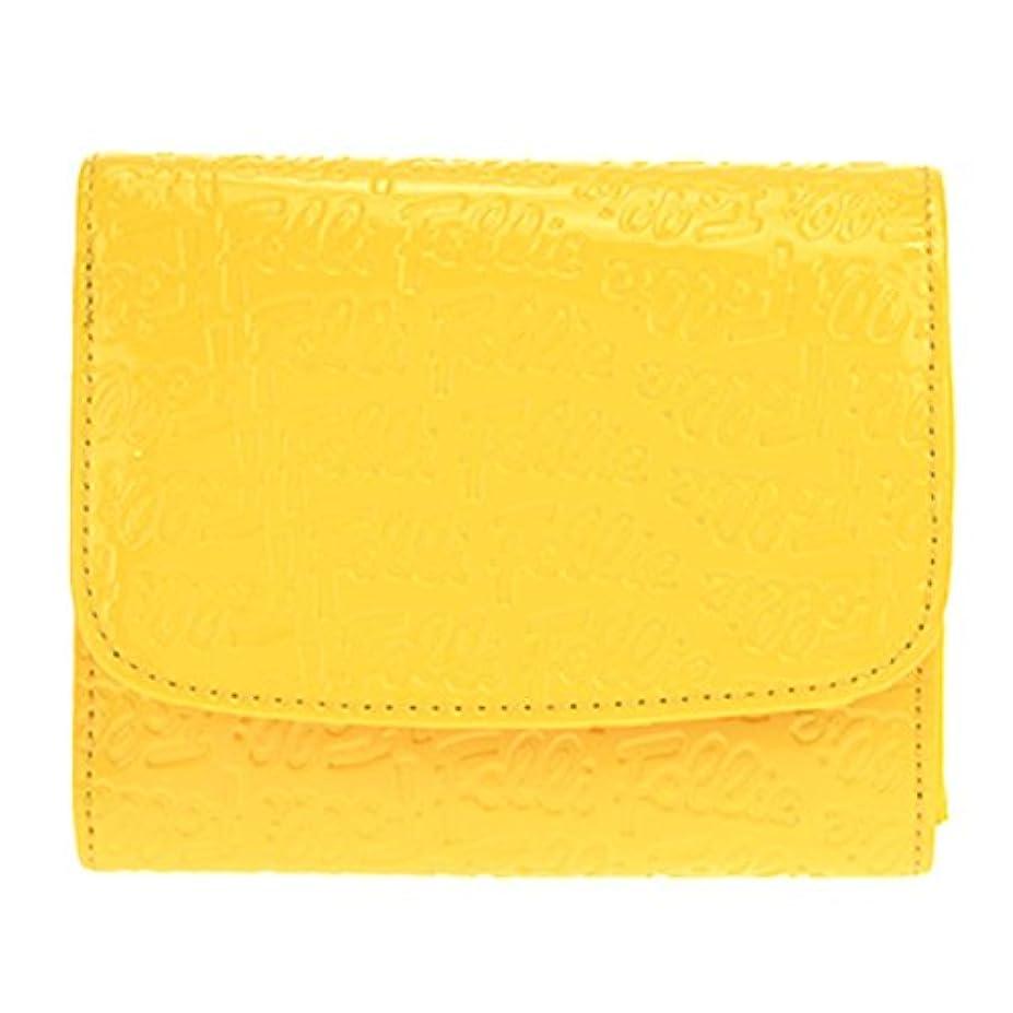 フォアマン頑固な韓国フォリフォリ WA0L026SY/YEL 二つ折り財布 【並行輸入品】
