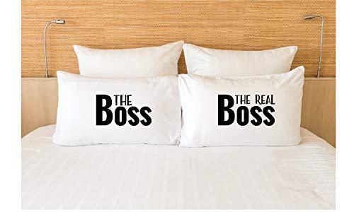 Miiyu6Bird The Real Boss Biancheria da letto The Boss The Real Boss Bed Set Im The Real Boss Coppia...