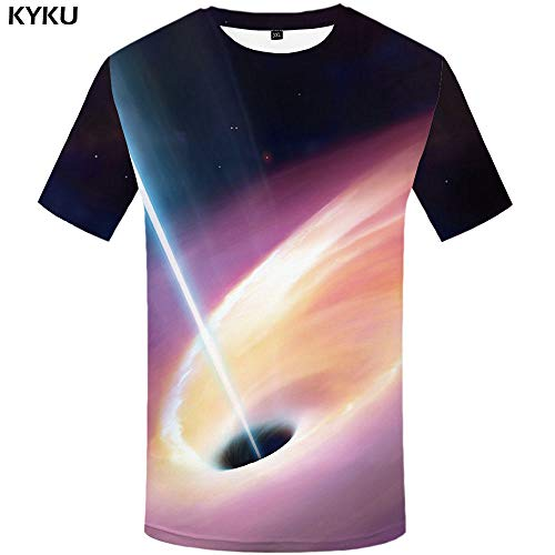 Zzfklj Avengers Fashion T Shirt Men Marvel T-Shirts 3D Film Funny Fashion T Shirts Galaxy Fashion T Shirt Printed Colorful Anime Clothes-Dx5016_M
