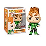 Funko Pop Animation : Dragon Ball Z - Android 16 (Limited Edition) 3.75inch Vinyl Gift for Anime Fans SuperCollection