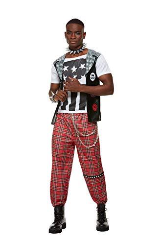 * NEW * Punk Rocker Costume by Smiffy's for Men.