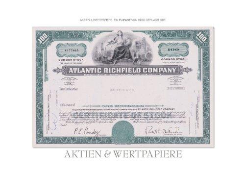 Aktien & Wertpapiere (Posterbuch DIN A3 quer)