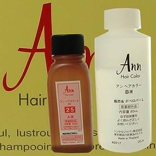 アン ヘアカラー 【白箱】 ANN HAIRCOLOR 43(黄色味をおびた栗色)