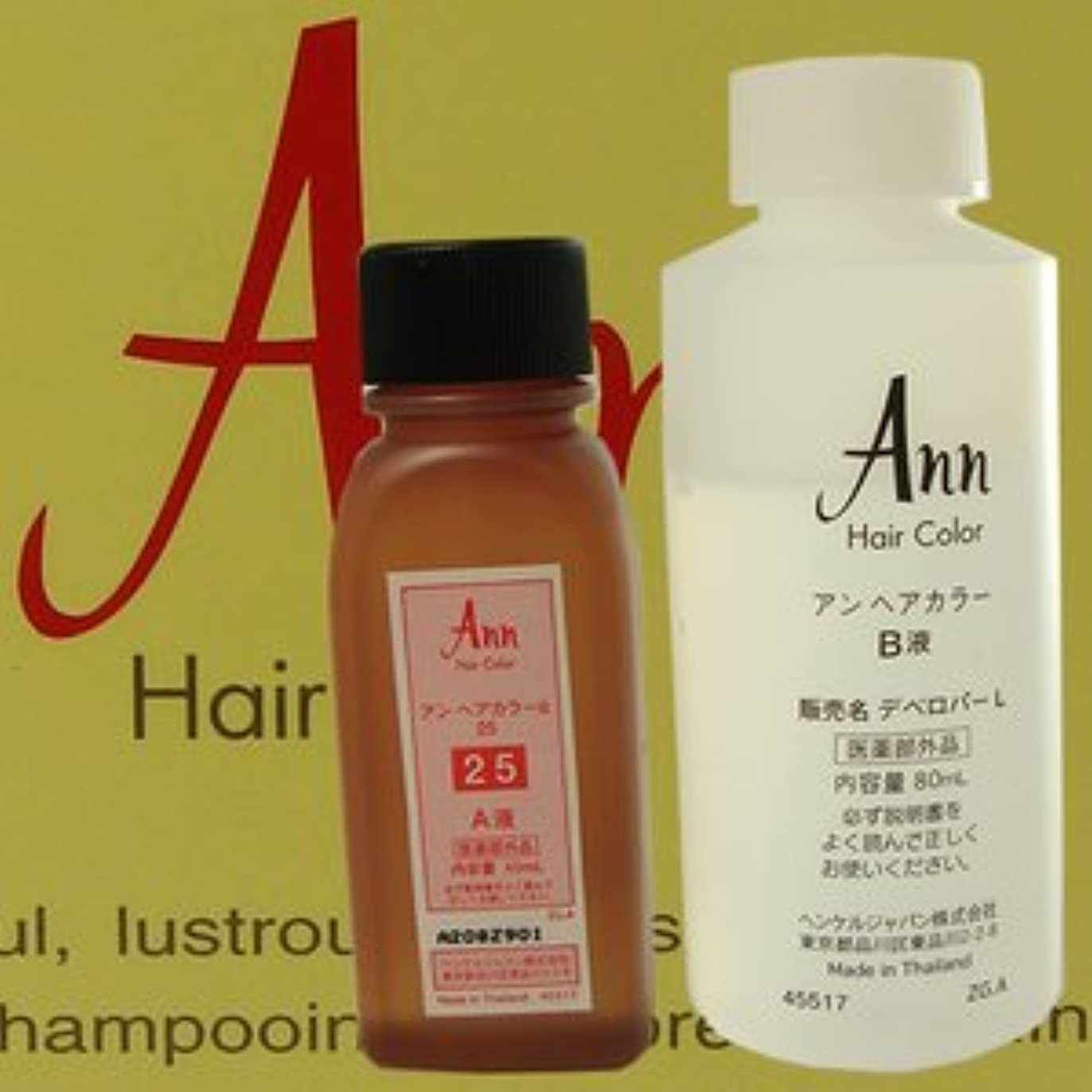 誤って生まれマダムアン ヘアカラー 【白箱】 ANN HAIRCOLOR 28(自然な栗色)