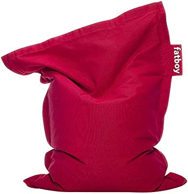 Fatboy Junior Stonewashed Sitzsack Red, Baumwolle, 20 x 130