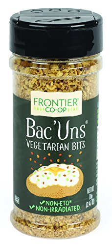 Frontier Vegetarian Bits Bac'uns, 2.47-Ounce Bottle