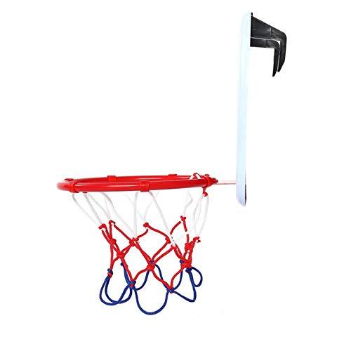 Pwshymi Mini verstellbare Basketballplatte Set Indoor Basketball Spielzeug Freunde Familie Jungen Mädchen Gruppe Aktivität(Right Angle Hook)