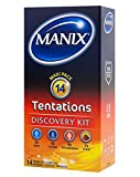 Kit découverte préservatifs MANIX TENTATIONS - Paquet de 14