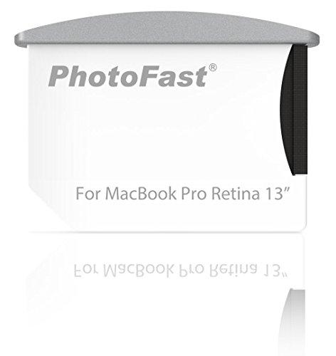 PhotoFast Memory Expandable Combo Kit - Plug&Play Speichererweiterung für das Apple MacBook Pro Retina 13 Zoll bis zu 256GB mit MicroSD/microSDHC/microSDXC