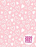 2020 2021 Planner: Pretty Two Year Monthly Pocket Calendar 2020-2021 | 24 Months Agenda Planner | 24 Months Jan 2020 to Dec 2021 | Monthly, Weekly and Daily Planner | Design Code A8 0044223