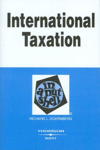 International Taxation in a Nutshell (Nutshell Series)...