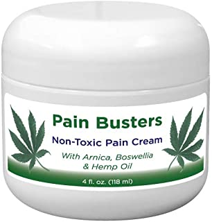 Sponsored Ad - Pain Busters Arnica, MSM & Hemp Oil Pain Relief Cream