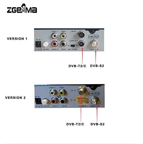 Zgemma Star H2, aggiornato dal ricevitore satellitare Cloud Ibox 3 Linux Enigma 2 con Twin Tuner Dvb-S2 + Dvb-T2 / C 1 pezzo
