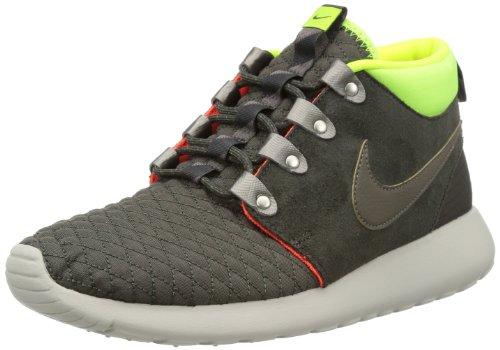 Nike Herren Air Footscape Nm Woven FK Laufschuhe, Grau Gelb, 42 EU