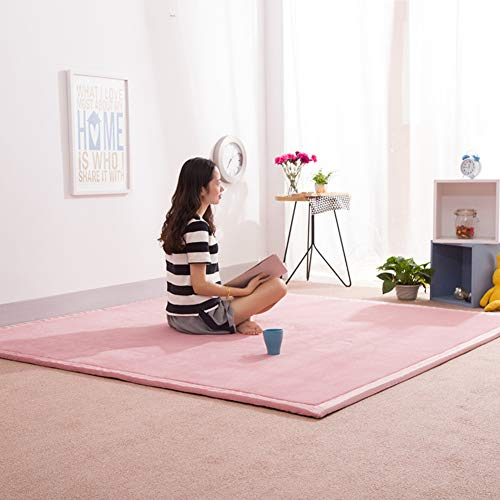 ZQ&QY No-Slip Play Crawling Mat, Doble-Cara Impermeable Jugando Al Melares De Gimnasio Jardín Sala De Estar Dormitorio -b-2cm 120x200cm(47x79inch)