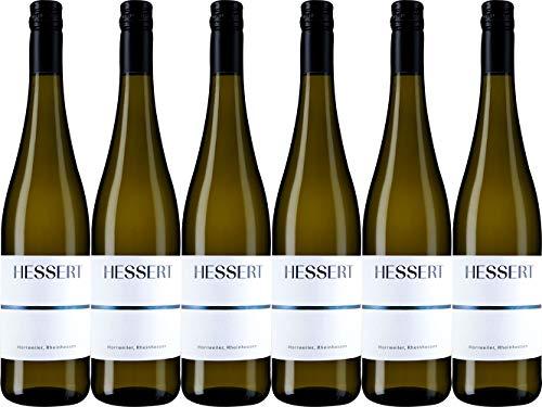 Hessert Horrweiler Chardonnay im Barrique gereift Ortswein 2018 Trocken (6 x 0.75 l)