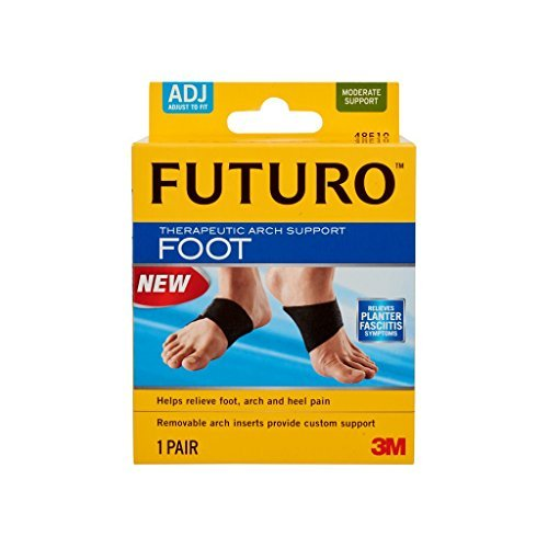 Futuro Therapeutic Arch Support of 8 Pack New product! New type safety Moderate