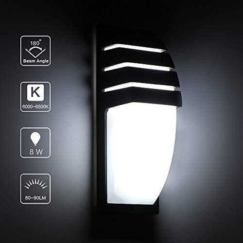 Wandlamp wandlamp 8 W COB LED wanddecoratie moderne industrie AC 85-265 V waterdicht buitenverlichting voor badkamer tuin huis