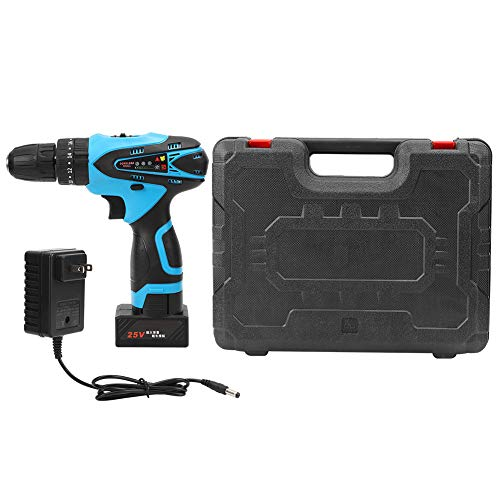 Electric Drill Driver Handheld Rechargeable Cordless Impact Driver 25V Driver Power Tool US Plug 100V‑240V