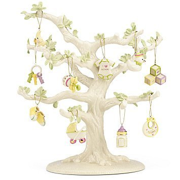 Lenox Baby Memories 10-pc Ornament Set Tree not Included