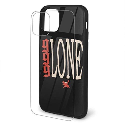 Tceeldv Fashion Juice Wrld X Vlone Album Cases Cover for iPhone 11/Pro/Pro Max Black