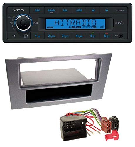 VDO TR712UB-BU Bluetooth AUX USB MP3 Autoradio für Ford Mondeo 03-07 OEM-Visteon-Sony Radios
