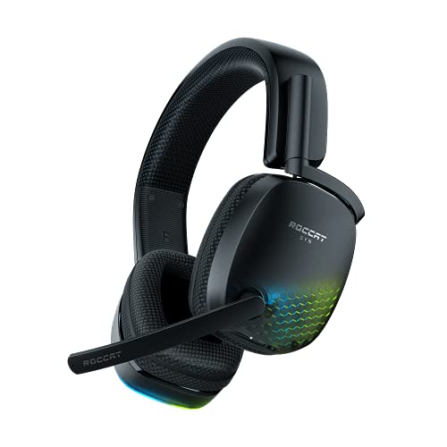 Roccat Syn Pro Air - Wireless 3D Audio RGB Gaming Headset