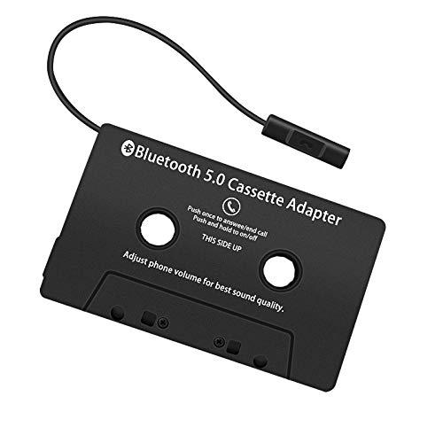 Generic Adaptador universal Bluetooth 5.0 para cinta de coche, casete de audio para adaptador Aux