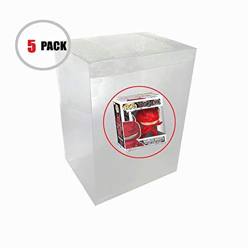 Childhood Clear Protector Funda protectora de plástico transparente Espesor compatible 0.4MM para figuras de vinilo Funko Pop de 6 pulgadas