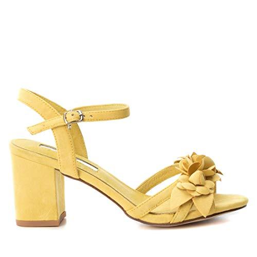XTI Sandalia TNT035043 para Mujer Amarillo 38