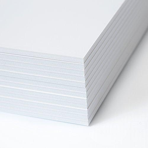 Foam Board 12 Pack - 11x14 inch Foam Core Board - 12 Foam Boards - White Project Board - Foam Poster Board - Foamcore Board Pack of 12