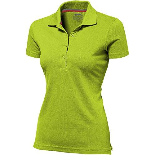 Slazenger Advantage Damen-Poloshirt, kurzärmlig - Apfelgrün, L